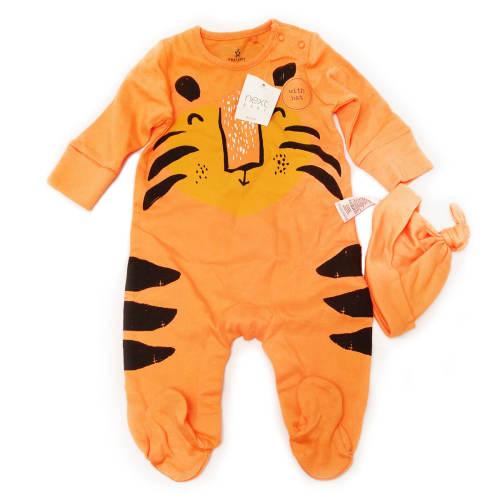 ست 2 تکه لباس نوزادی پسرانه نکست مدل Tiger