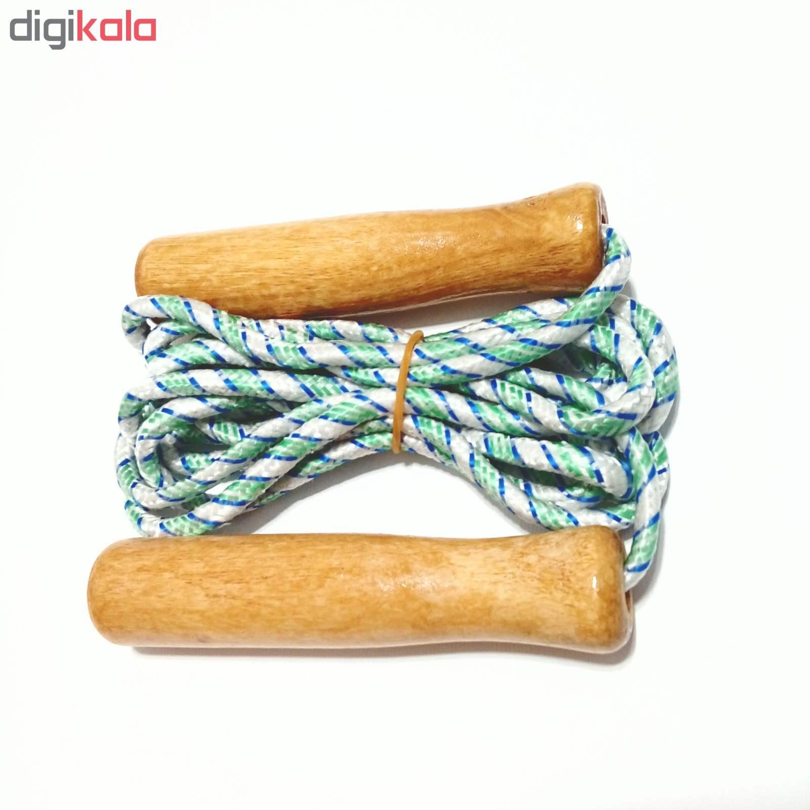 طناب ورزشی دسته چوبی جامپ روپ کد 224 main 1 2