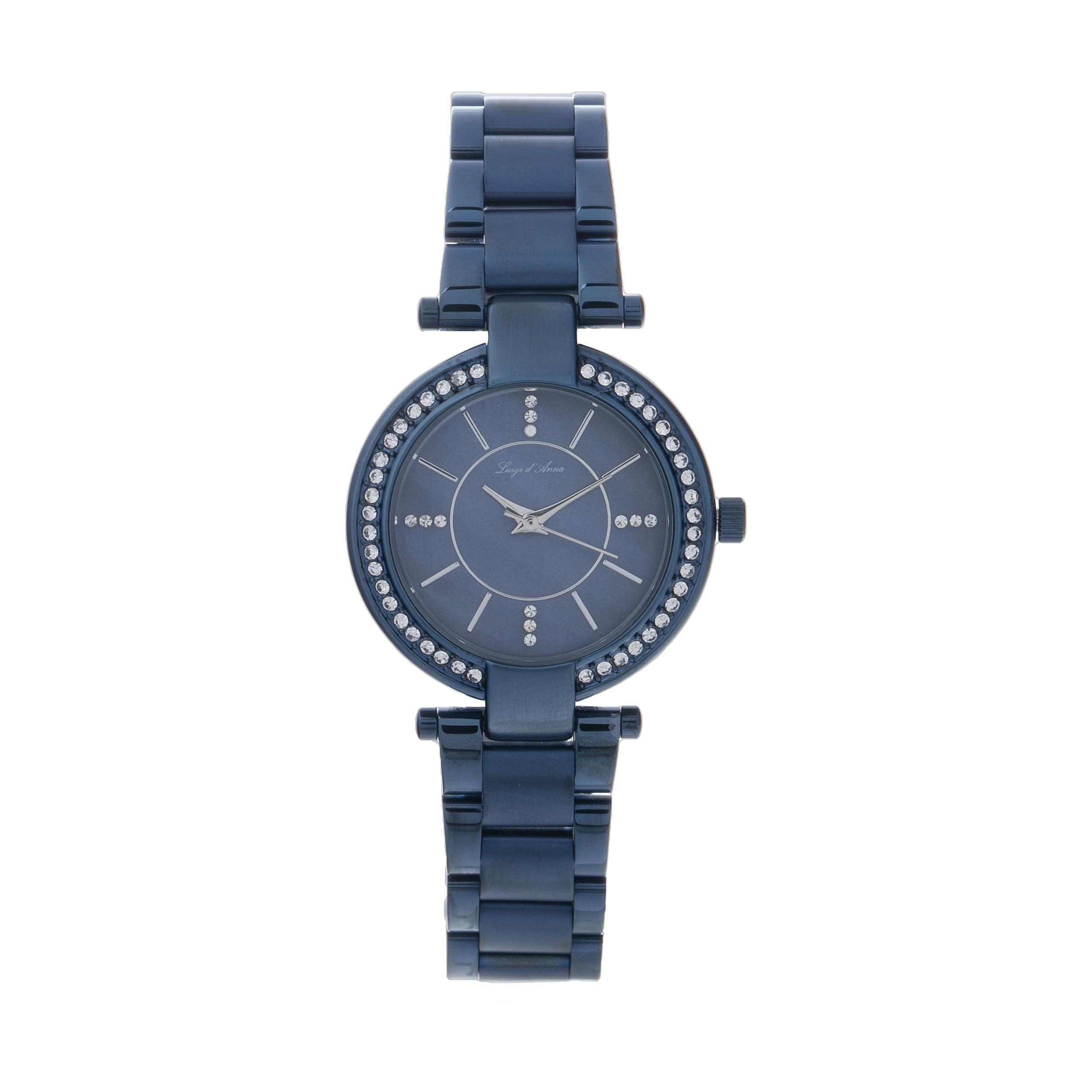 خرید ساعت مچی عقربه ای زنانه ال دی ای مدل KL 2007A به همراه دستمال مخصوص نانو برند کلیر واچ