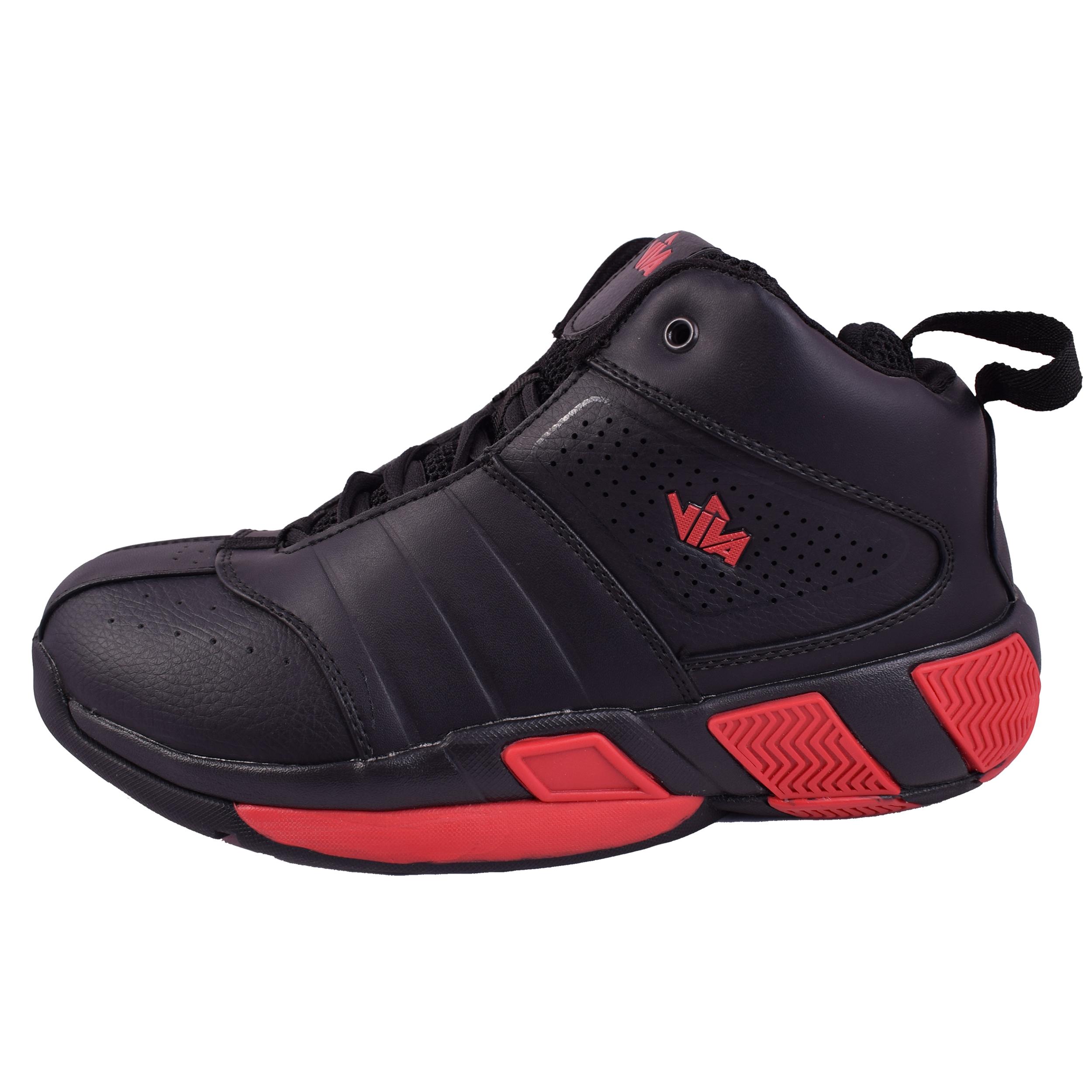 کفش مخصوص بسکتبال مردانه ویوا کد M8201 رنگ مشکی
