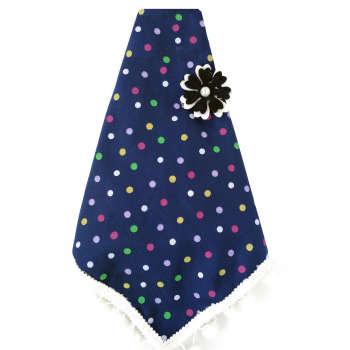دستمال سر دخترانه مدل آیسا کد 002 تک سایز