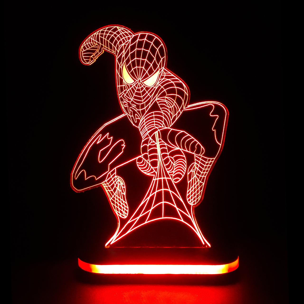 چراغ خواب طرح مرد عنکبوتی کد 1155