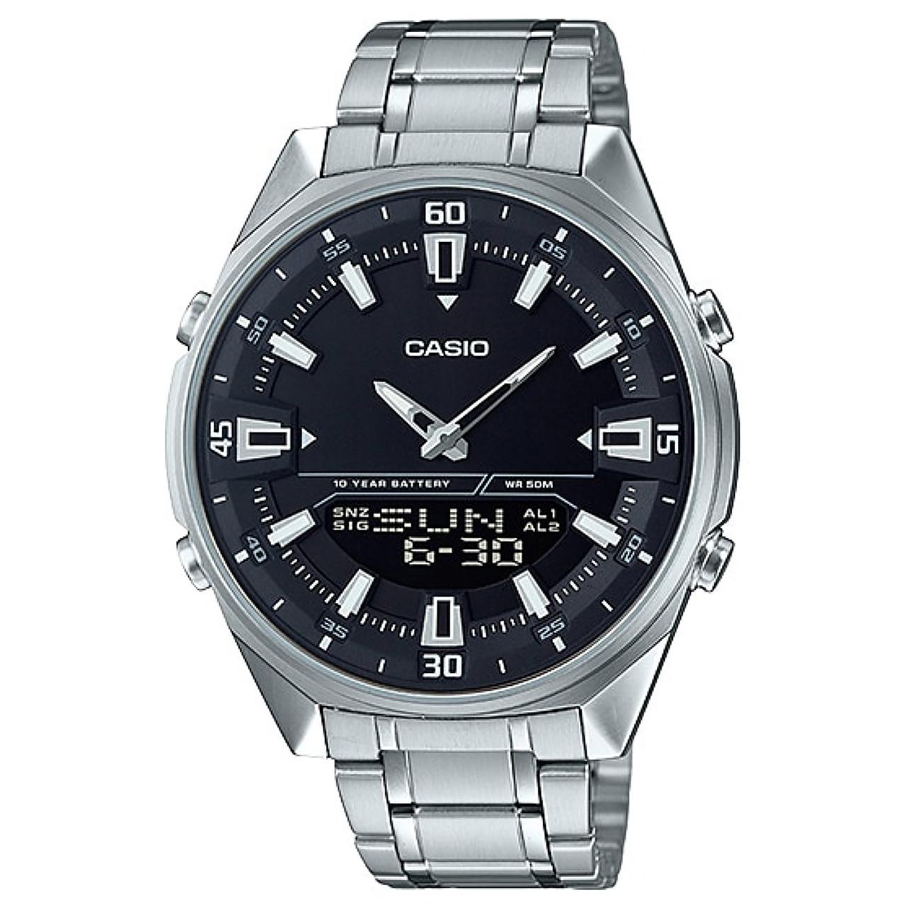 ساعت مچی عقربه ای مردانه کاسیو مدل AMW-830D-1AVDF