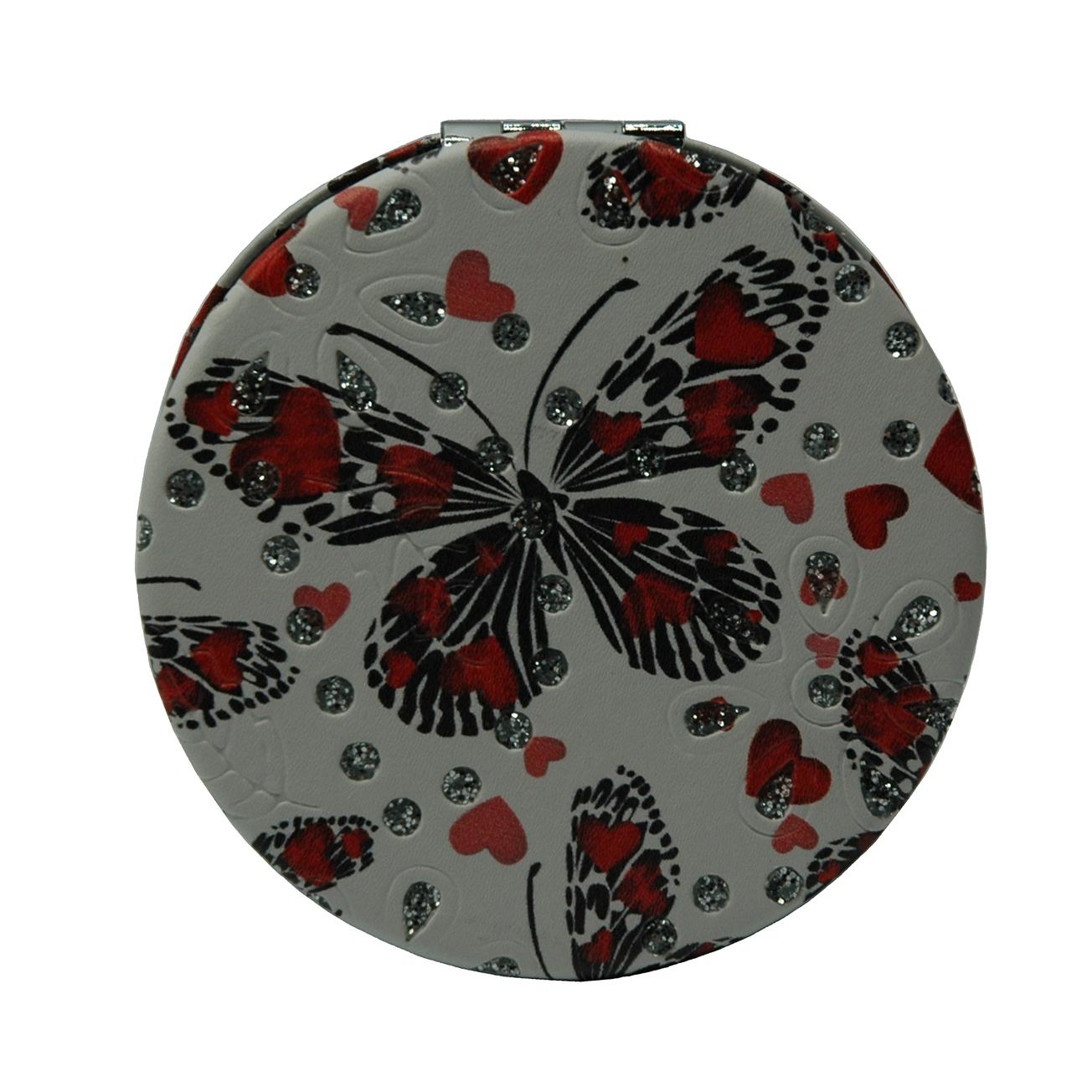 آینه جیبی طرح پروانه مدل 7-233942