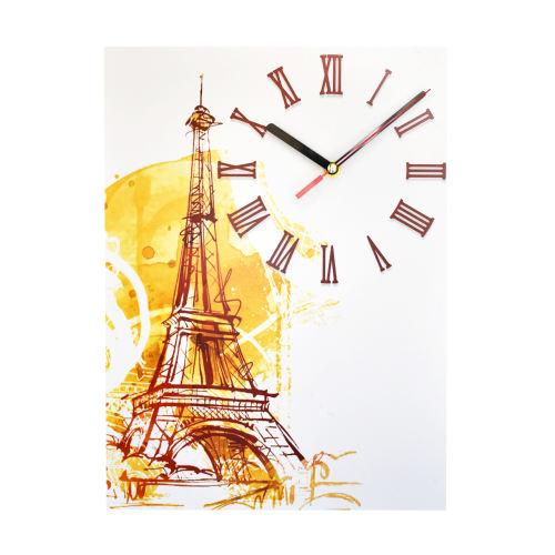 ساعت دیواری طرح پاریس مدل HMP