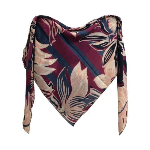 روسری زنانه نخی دور دست دوز  کد 403