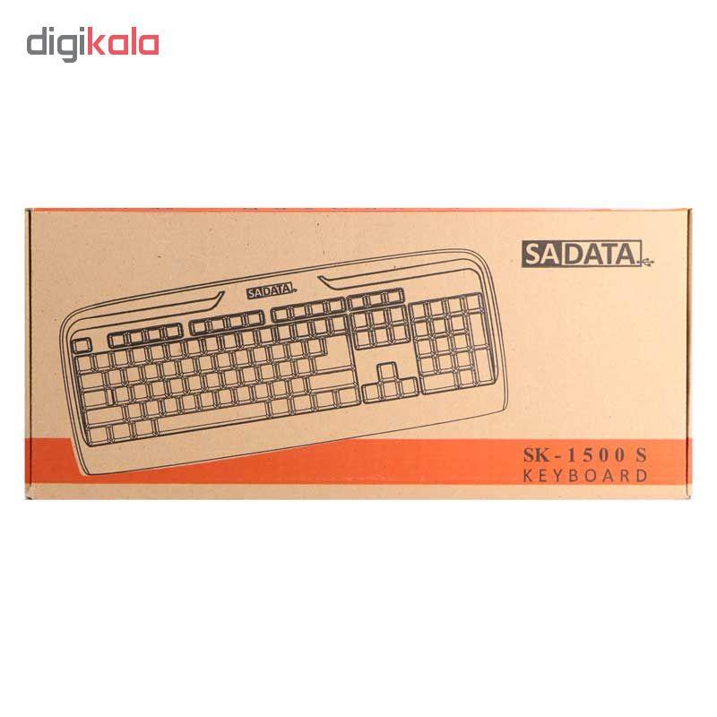 کیبورد سادیتا مدل SK1500S با حروف فارسی main 1 3