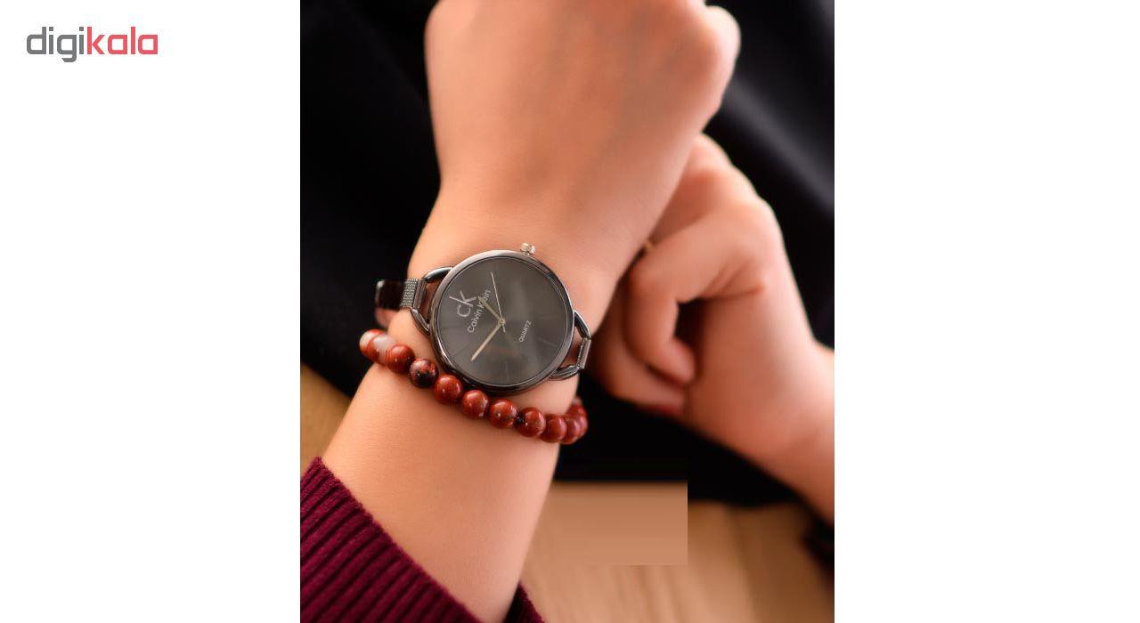 ساعت مچی عقربه ای زنانه مدل C-Bk