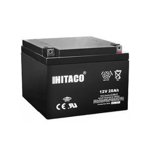 باتری یو پی اس 12 ولت 28 آمپر هیتاکو مدل HB28-12