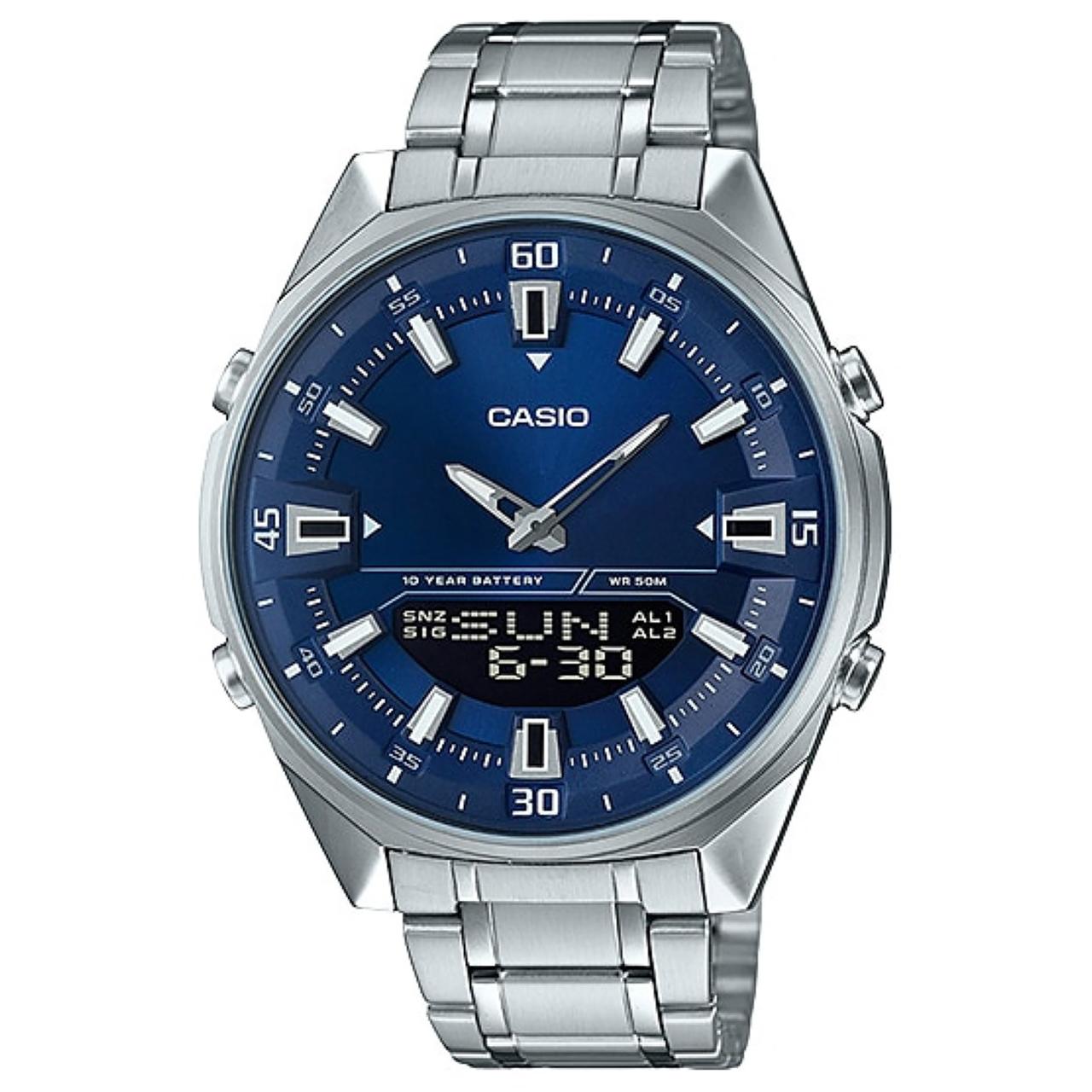 ساعت مچی عقربه ای مردانه کاسیو مدل AMW-830D-2AVDF