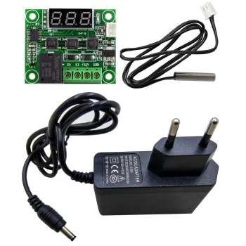 کیت کنترلر دمای دیجیتال الکترومکانیک - مونتاژ شده