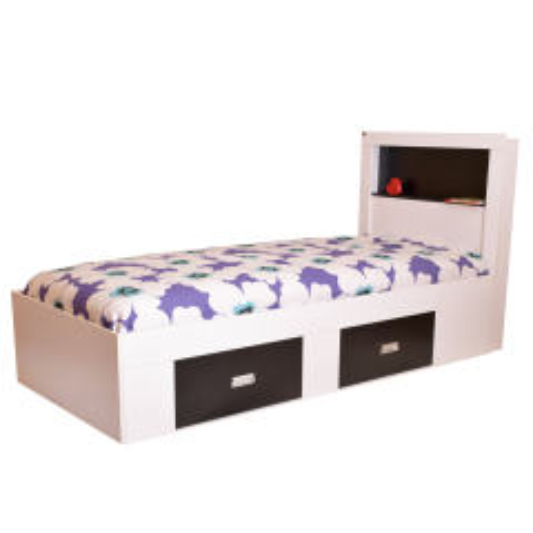 تخت خواب یک نفره لمکده مدل دلارا