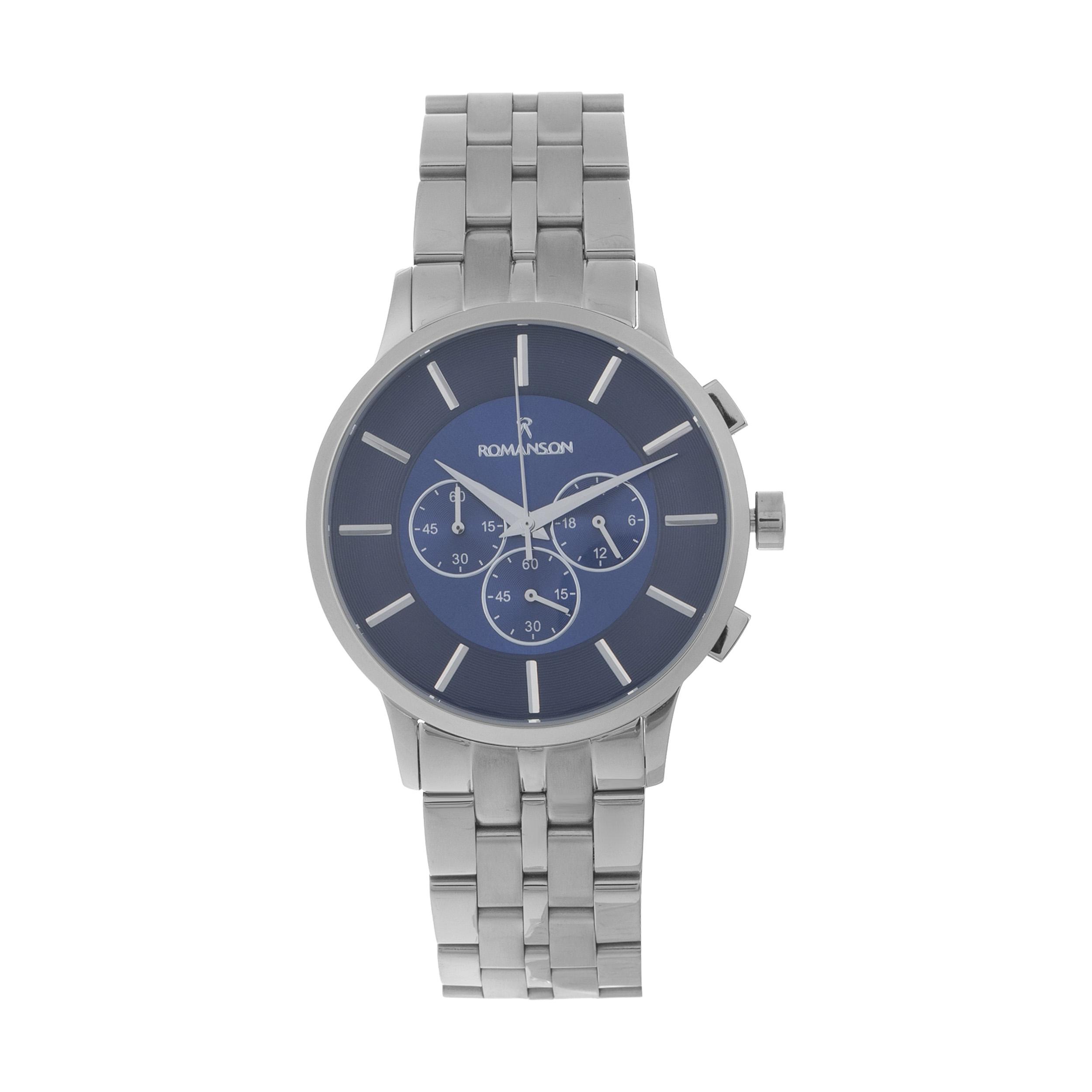 ساعت مچی عقربه ای مردانه مدل RM 1188 SG / NO-AB به همراه دستمال مخصوص نانو برند کلیر واچ 14