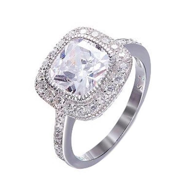 قیمت انگشتر نقره زنانه کد GR0455