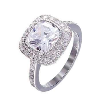 انگشتر نقره زنانه کد GR0455