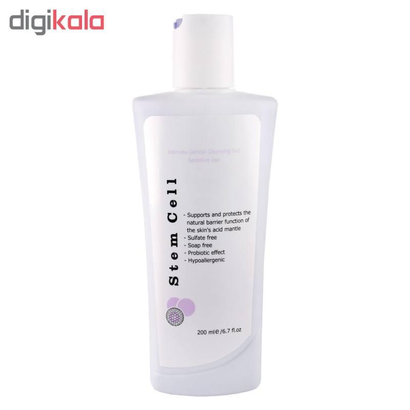 ژل بهداشتی بانوان استم سل مخصوص پوست حساس مدل Sensitive Use حجم 200 میلی لیتر