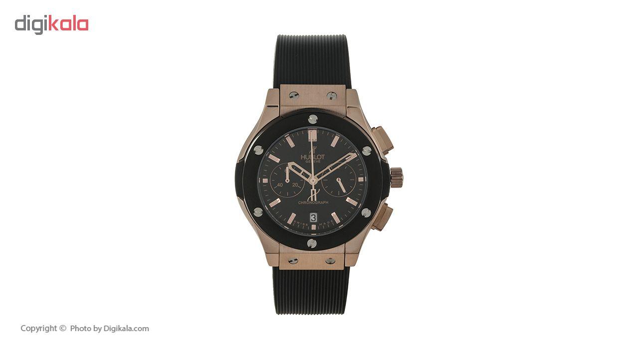 ساعت مچی عقربه ای زنانه مدل HUBL 582888 L -MM به همراه دستمال مخصوص نانو برند کلیر واچ