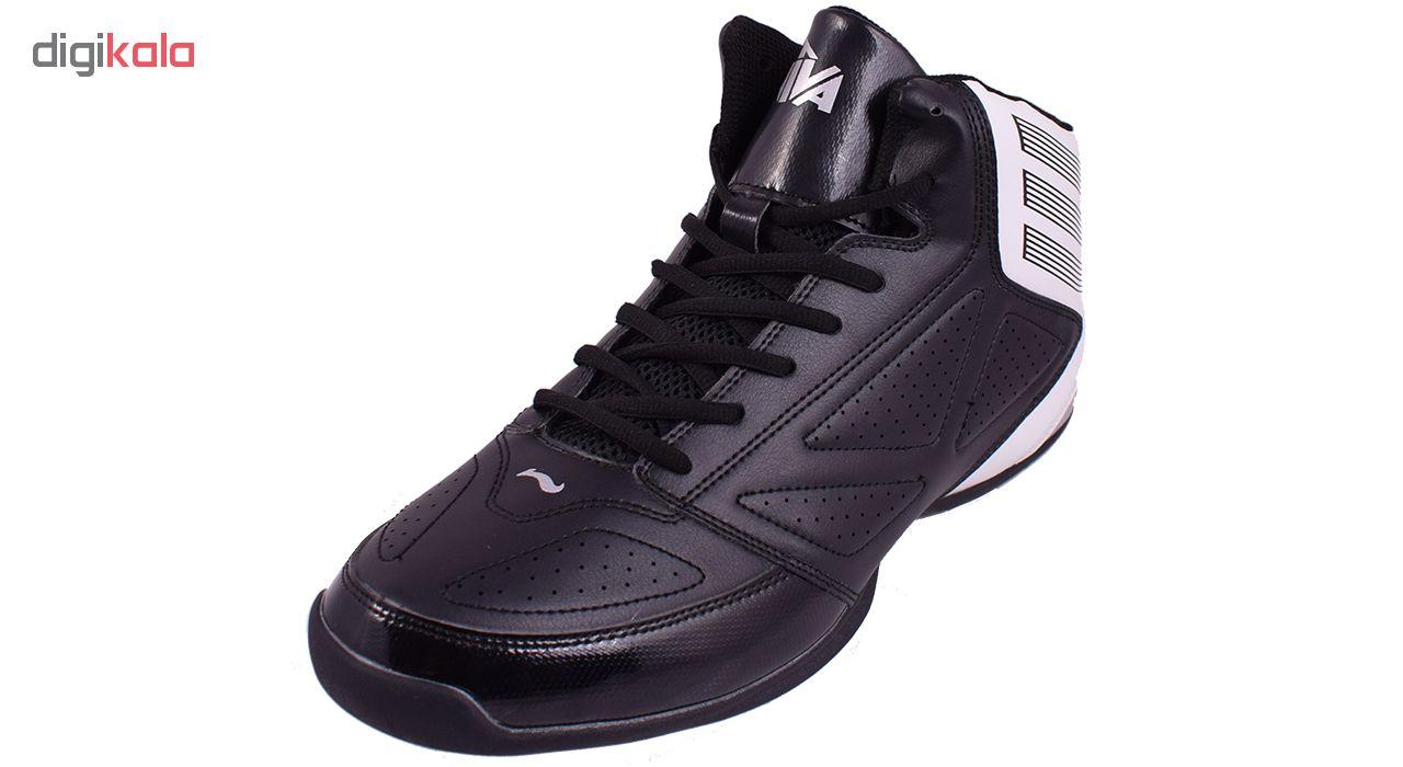 کفش مخصوص بسکتبال مردانه ویوا کد M3616 رنگ مشکی