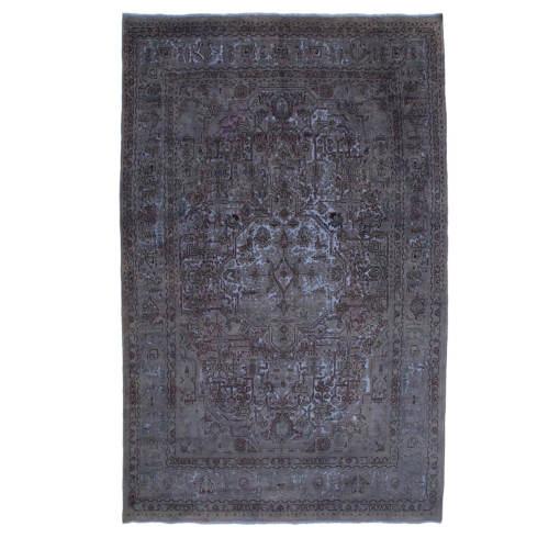فرش دستبافت وینتیج شش و نیم متری  کد 7586