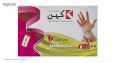 دستکش یکبار مصرف دقیق پلاستیک کهن کد 760001 بسته 100 عددی thumb 1