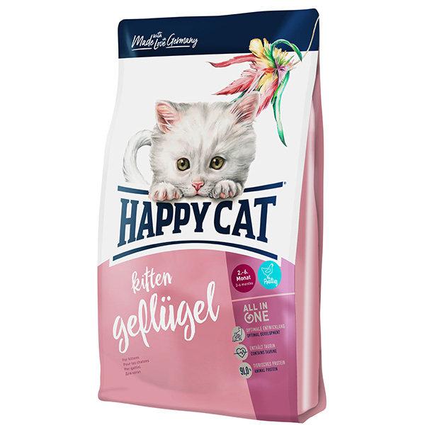 غذای خشک هپی کت گربه مدل Kitten وزن 4 کیلوگرم