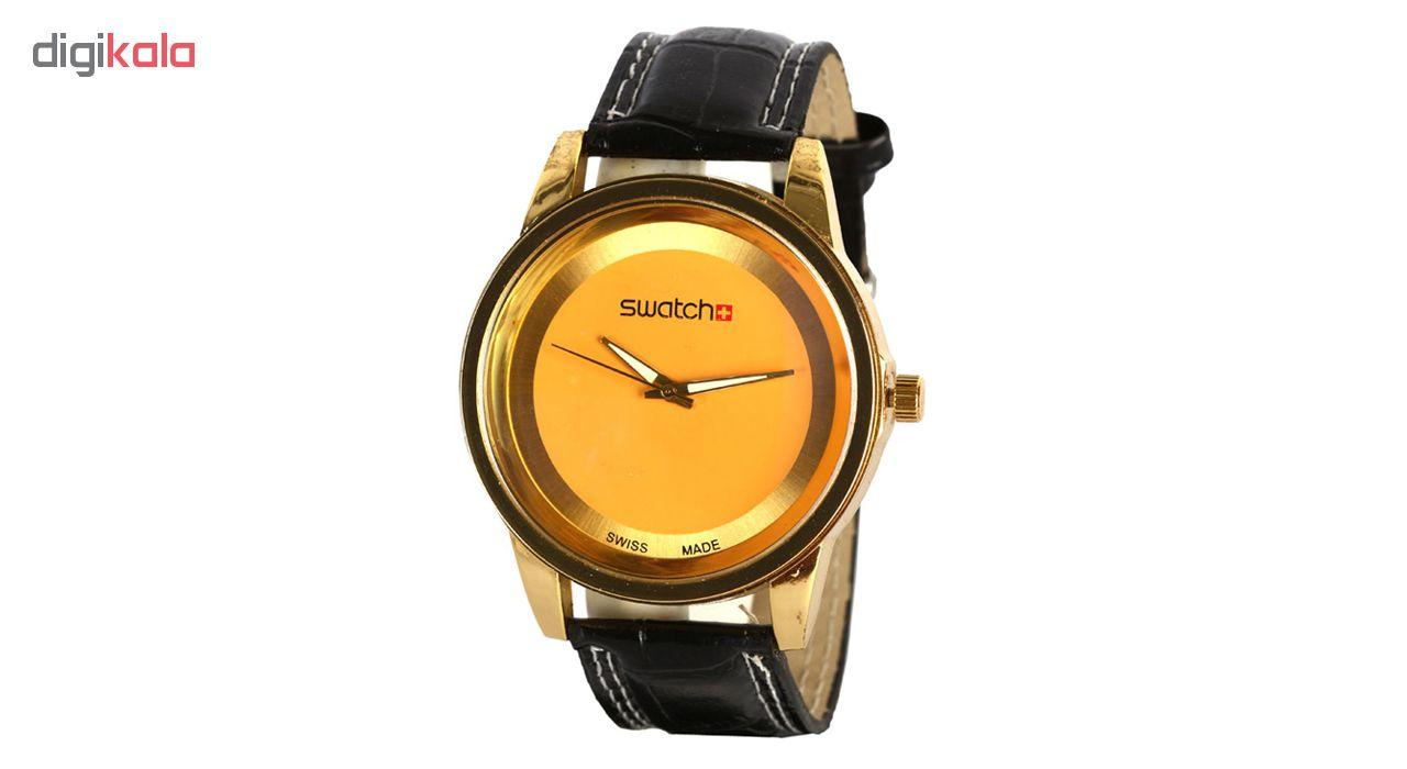 خرید ساعت مچی عقربه ای مردانه مدل WcGl
