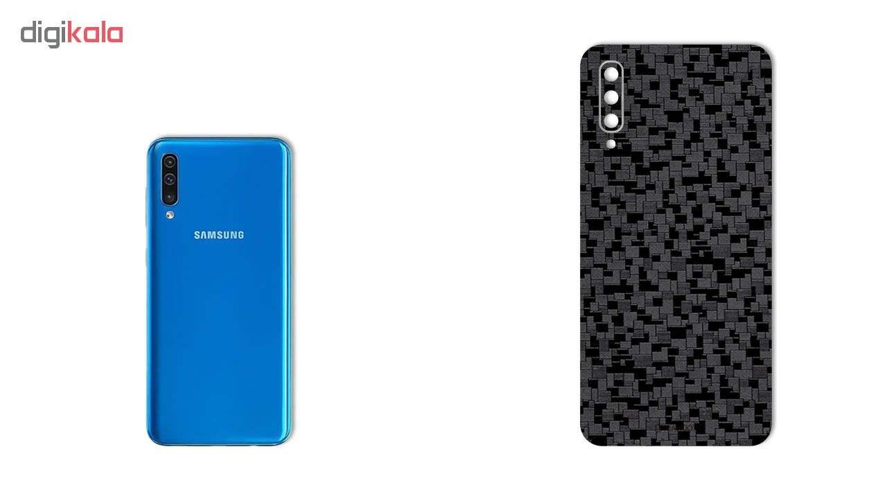 برچسب پوششی ماهوت طرح Silicon-Texture مناسب برای گوشی موبایل سامسونگ Galaxy A50 main 1 1