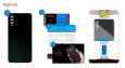 برچسب پوششی ماهوت طرح Black-Suede مناسب برای گوشی موبایل سامسونگ Galaxy A50 thumb 3