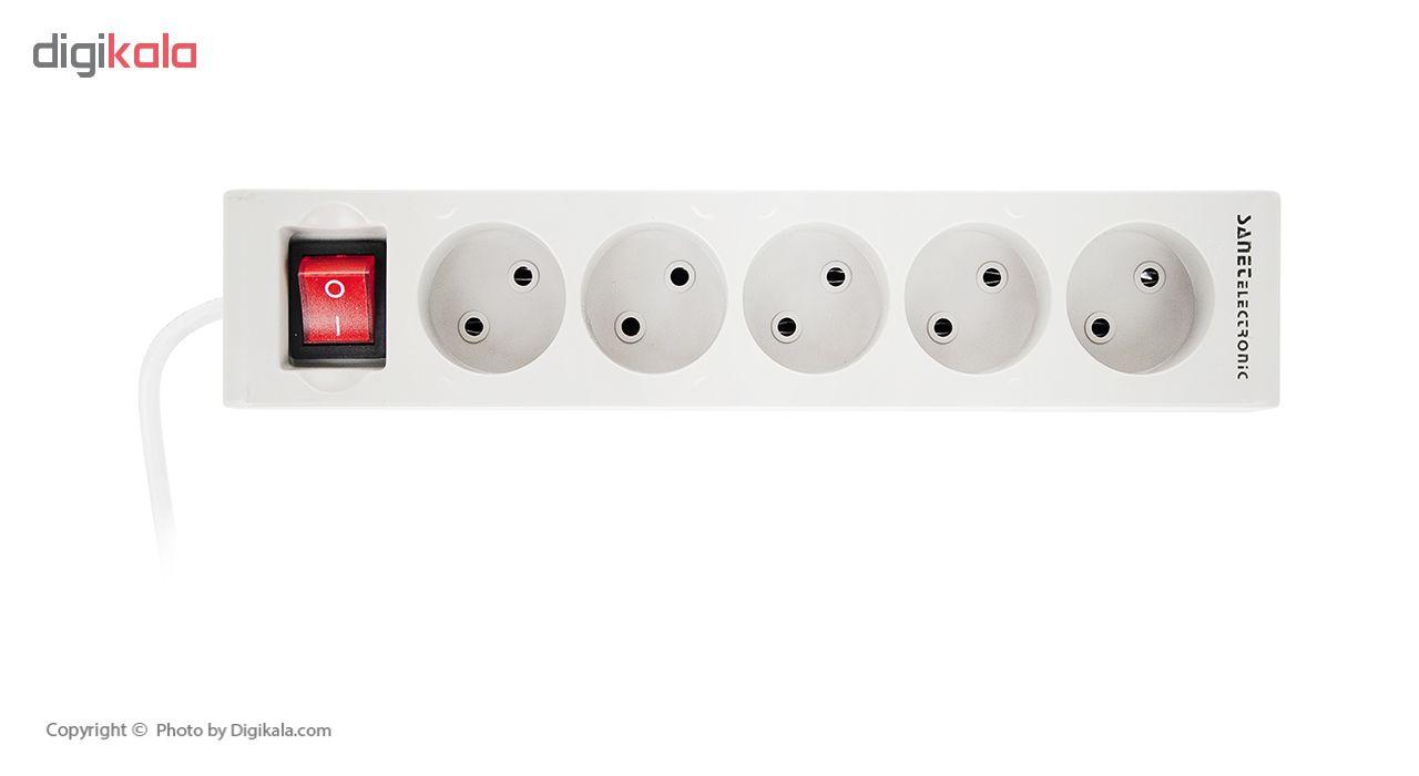 خرید اینترنتی چندراهی برق صانت الکترونیک مدل S-4D اورجینال