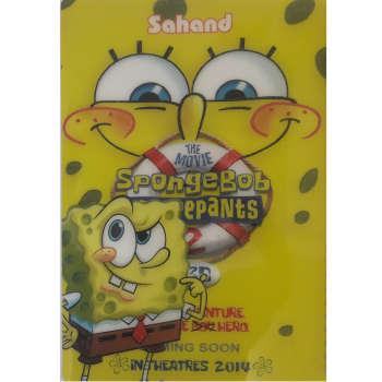 دفتر مشق سهند مدل SpongeBob کد 009
