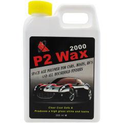 واکس و شیر پولیش بدنه خودرو P2 کد 2000 حجم 300 میلی لیتر