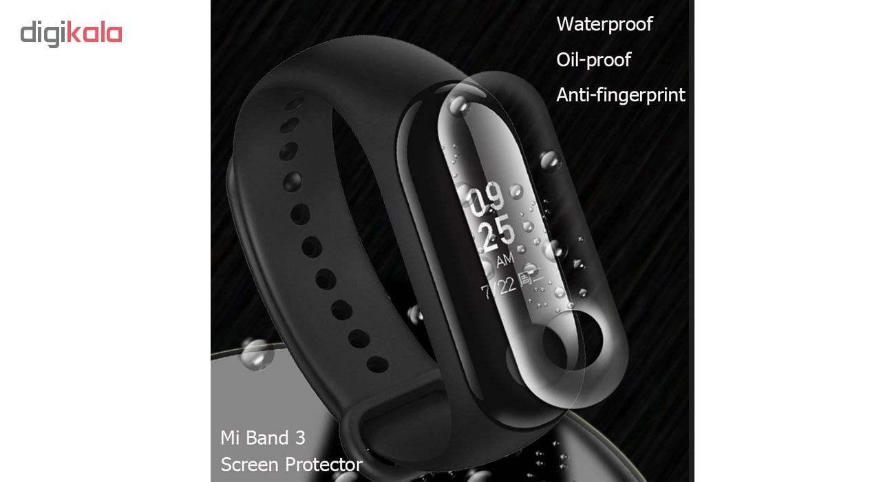 محافظ صفحه نمایش نانو هورس مدل FSN مناسب برای مچ بند هوشمند شیائومی Mi Band 3 بسته دو عددی main 1 7