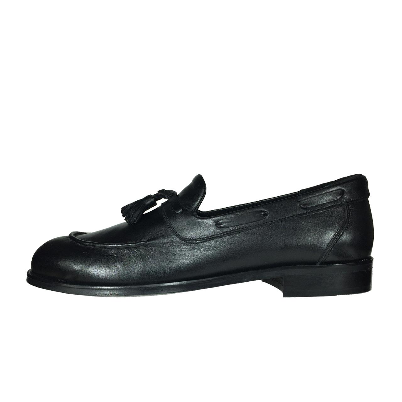 کفش مردانه پاریس جامه مدل B483 رنگ مشکی