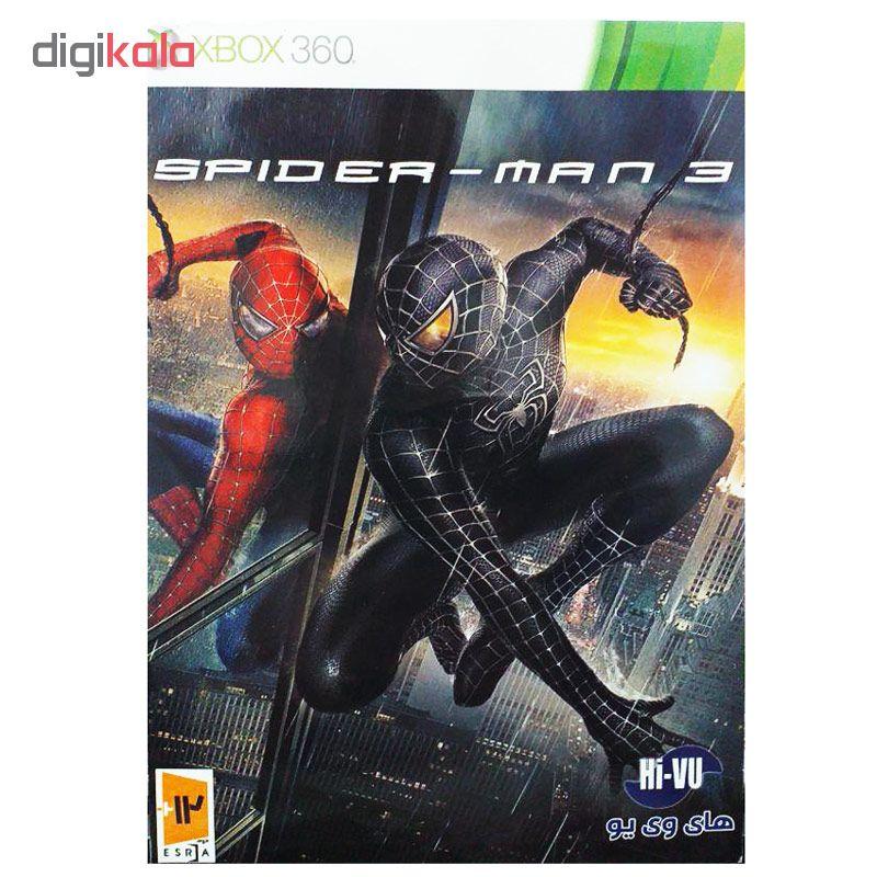 بازی Spider Man 3 مخصوص xbox 360