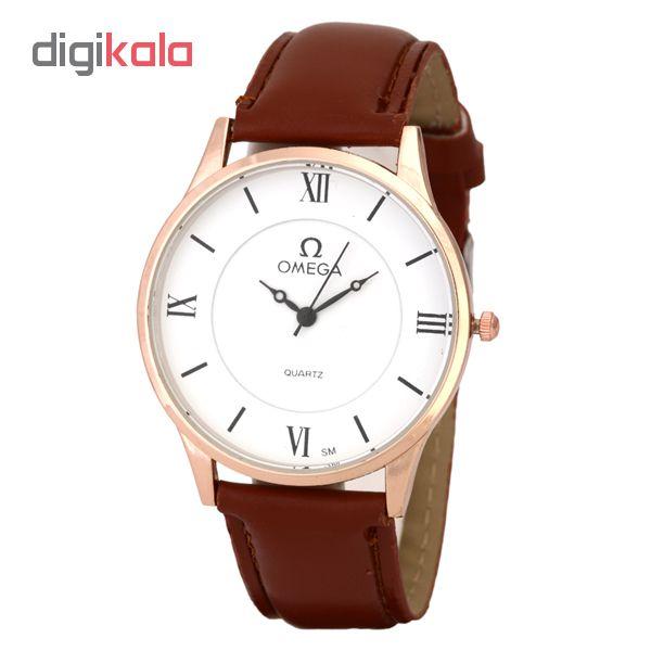 خرید ساعت مچی عقربه ای مردانه  مدل om03