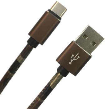 کابل تبدیل USB به USB-C مدل pu-co56 طول 1 متر