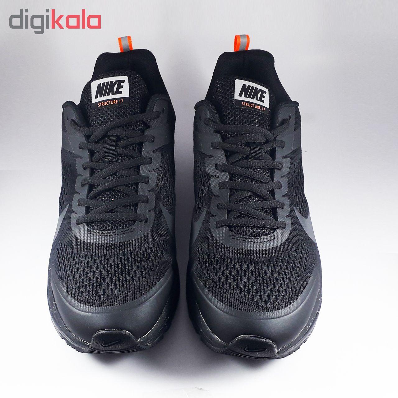 کفش ورزشی مخصوص دویدن و پیاده روی مردانه نایکی مدل   Shield Structure 17