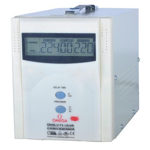 استابلایزر سرووموتوری امگا مدل OMG-V11-0.5K ظرفیت 500VA