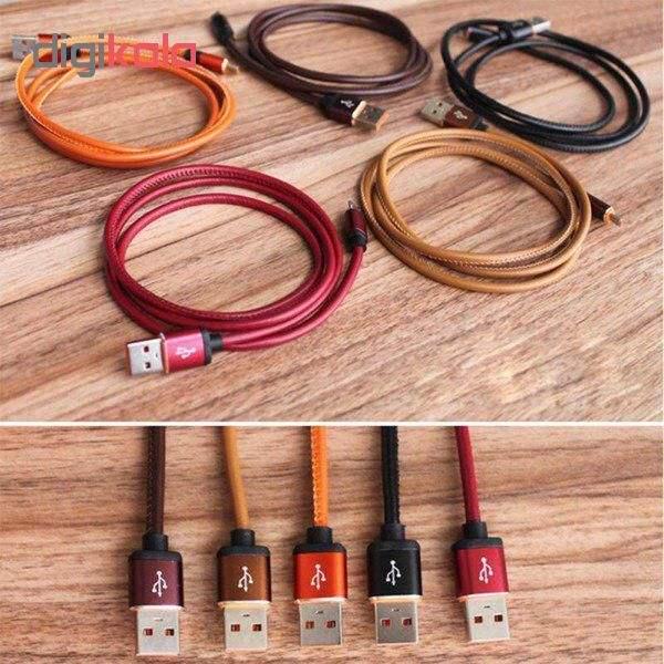 کابل تبدیل USB به microUSB مدل pu-sm52 طول 1 متر main 1 2