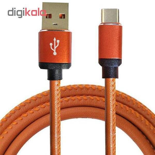 کابل تبدیل USB به USB-C مدل pu-sm52 طول 1 متر main 1 1