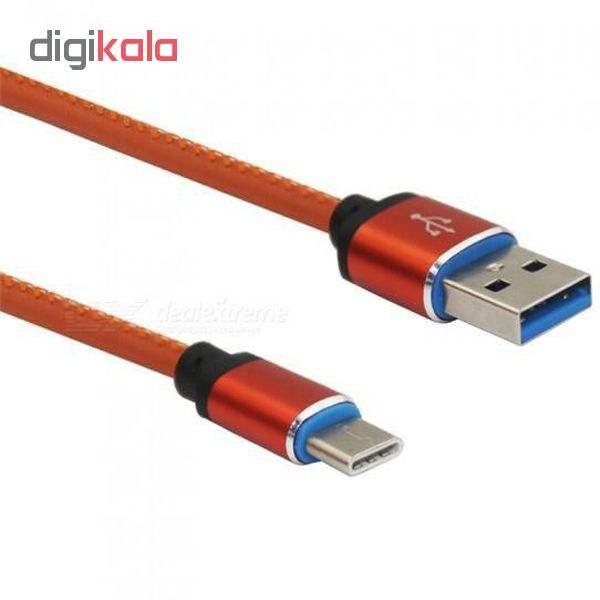 کابل تبدیل USB به USB-C مدل pu-sm52 طول 1 متر main 1 2