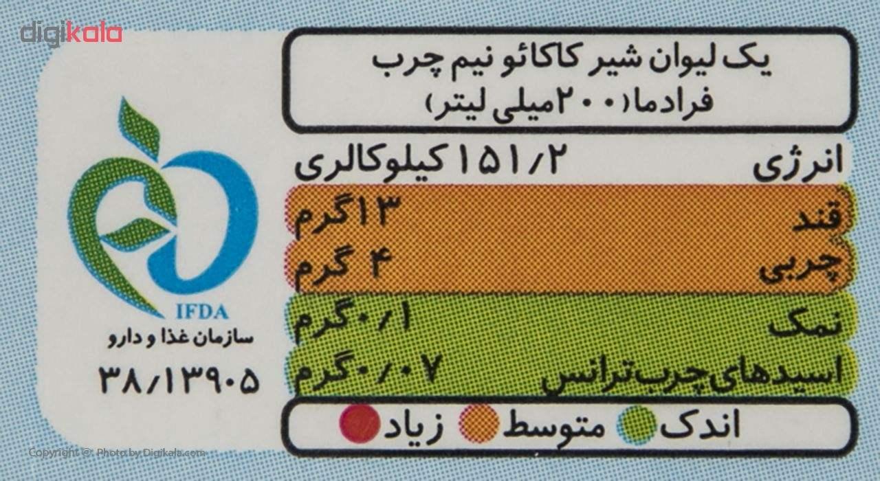 شیر کاکائو روزانه مقدار 1 لیتر main 1 3