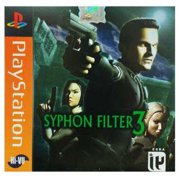 بازی Syphon Filter 3 مخصوص ps1