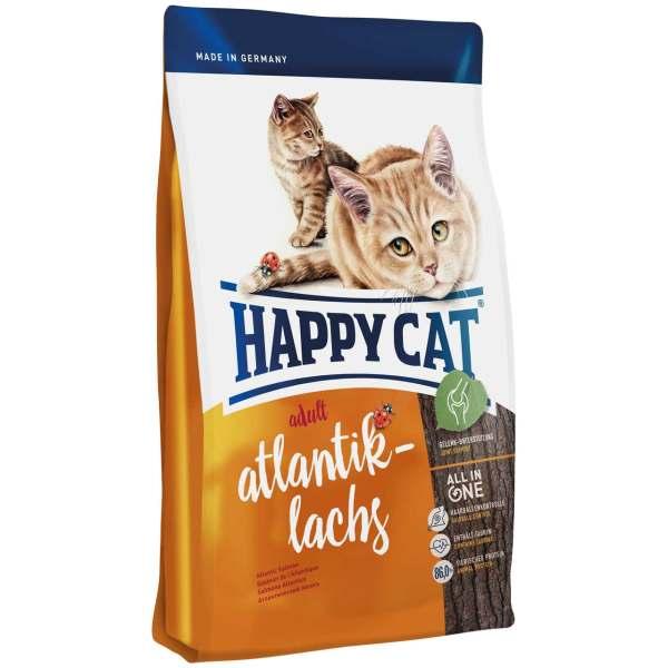 غذای خشک گربه بالغ هپی کت مدل Slmn01 وزن 1400 گرمی
