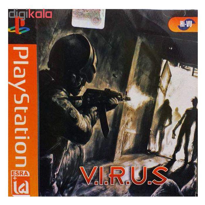 خرید اینترنتی بازی VIRUS مخصوص ps1 اورجینال