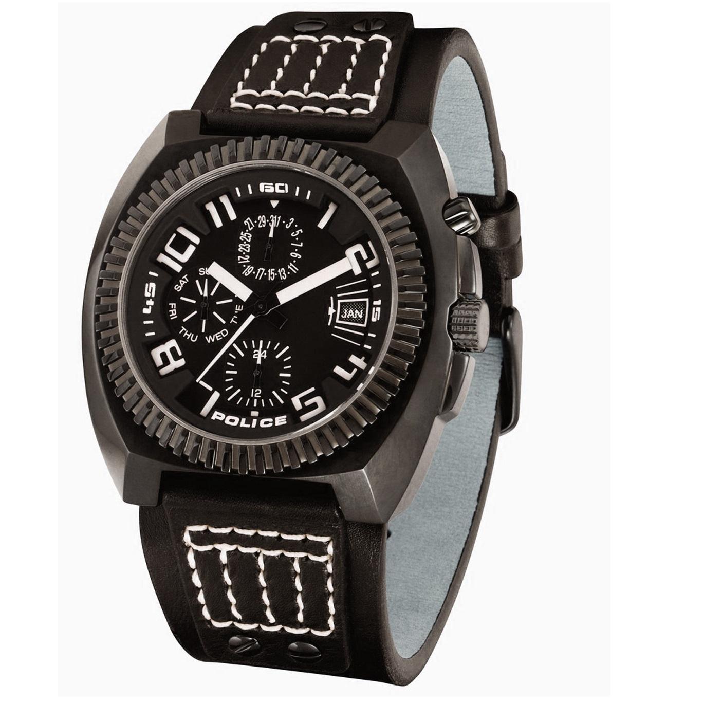 ساعت مچی عقربه ای مردانه پلیس مدل PL12083JB/02 19