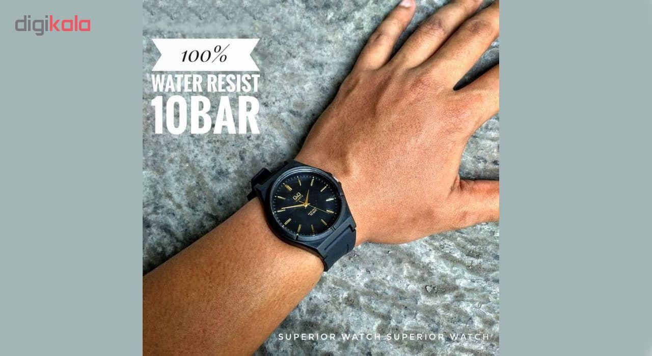ساعت مچی عقربه ای مردانه کیو اند کیو مدل vq66j003y به همراه دستمال مخصوص برند کلین واچ              خرید (⭐️⭐️⭐️)