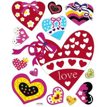 استیکر کودک طرح قلب مدل love - A 019