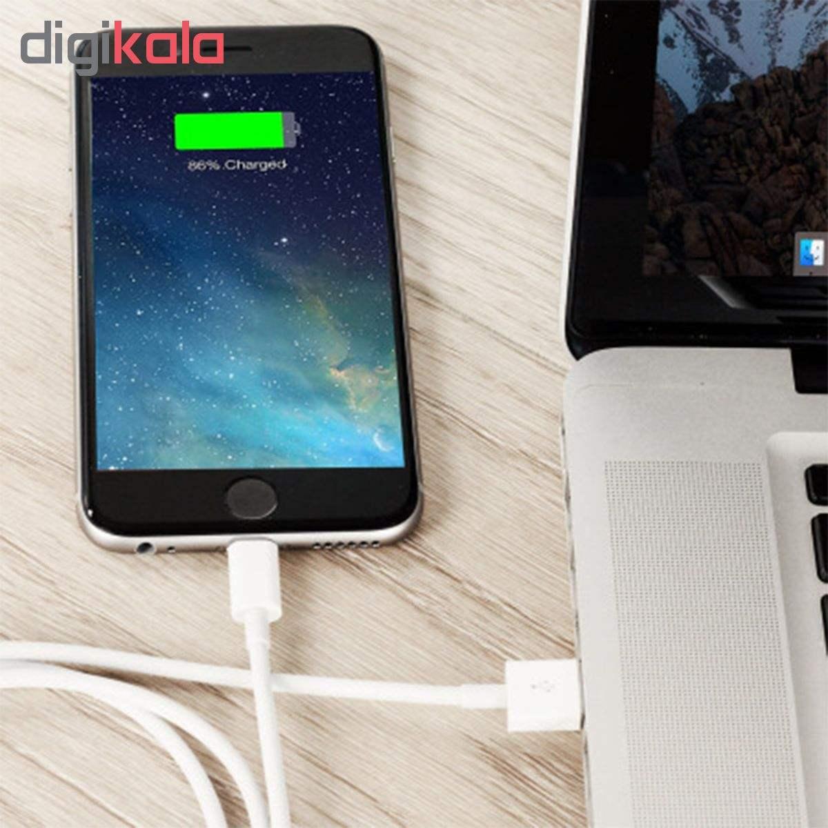 کابل تبدیل USB به لایتنینگ مدل MD818 طول 1متر main 1 3
