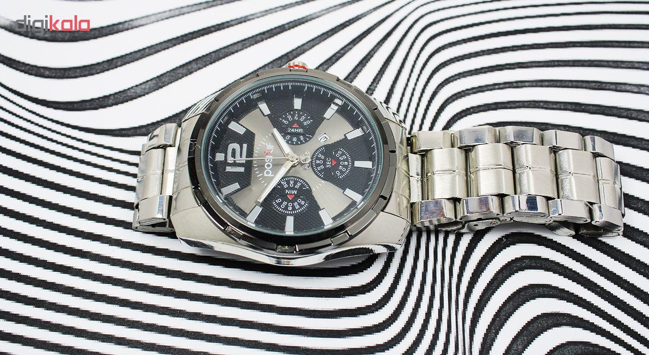 ساعت مچی عقربه ای مردانه مدل Pos-01